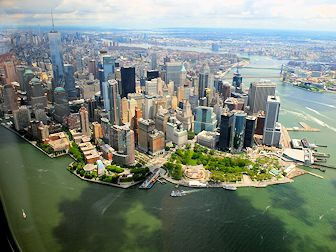 Helikoptertur i New York - Skyline
