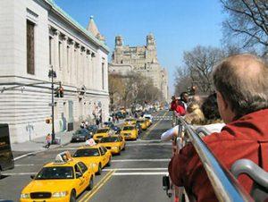 Hop-On Hop-Off buss i New York