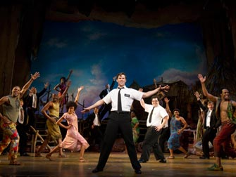 The Book of Mormon Broadway tickets - Musikalens skuespillere