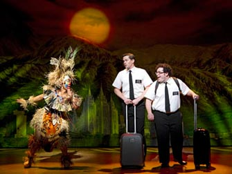 The Book of Mormon Broadway tickets - Ankomst