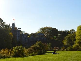Central Park - Belvedere Castle sommer