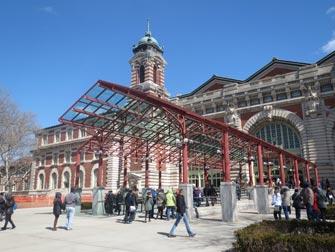 Ellis Island i New York - Museum inngang