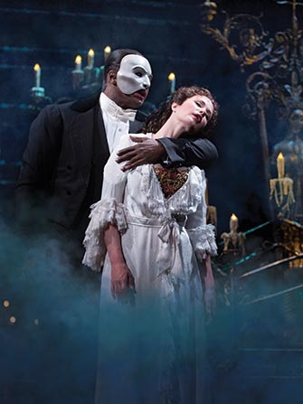 The Phantom of the Opera Broadway tickets - Fantomet og Christine