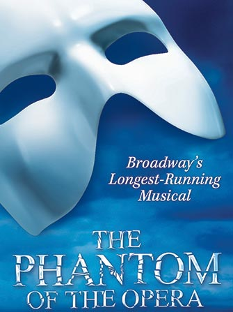 The Phantom of the Opera Broadway tickets - Poster
