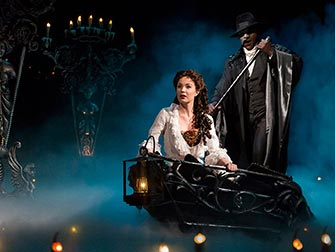 The Phantom of the Opera Broadway tickets - Skuespillere