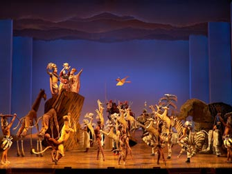 The Lion King Broadway tickets - Ensemble