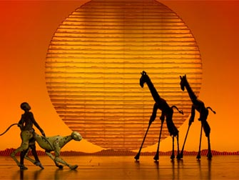 The Lion King Broadway tickets - Scenen