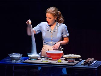 Sara Bareilles' Waitress Broadway tickets - Baking