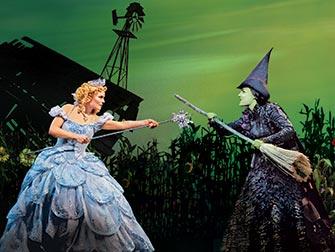 Wicked Broadway tickets - Heksene