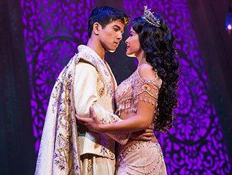 Aladdin Broadway Tickets - Aladdin og Jasmine