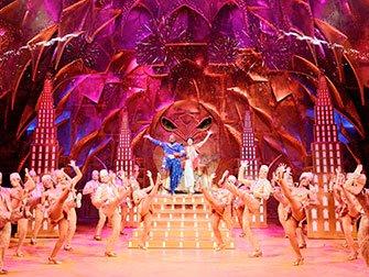Aladdin Broadway Tickets - Genie og Aladdin