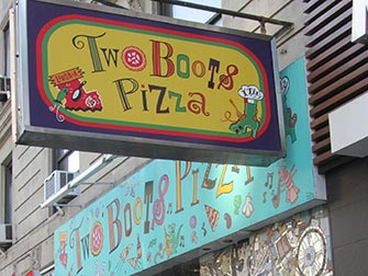 Best pizza i New York - Two Boots