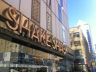 Beste hamburgere i New York - Shake Shack