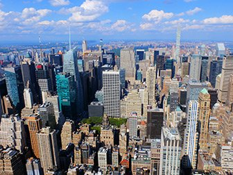 Billetter til Empire State Building - Utsikt utover Uptown