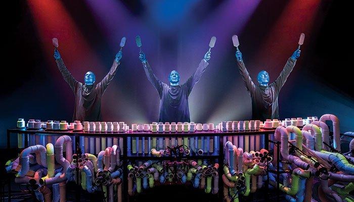 Blue Man Group Tickets i New York - Henda i været