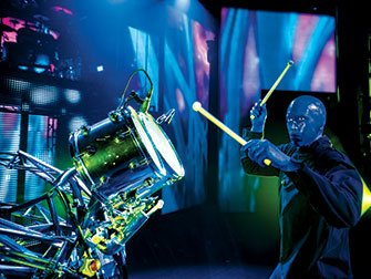 Blue Man Group Tickets i New York - Trommer