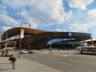 Brooklyn Nets i NYC - Barclays Center Brooklyn