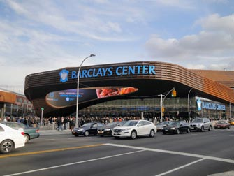 Brooklyn Nets in NYC - Barclays Center