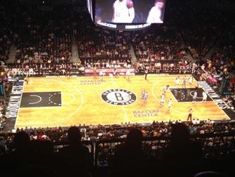 Brooklyn Nets in NYC - Basketballbane