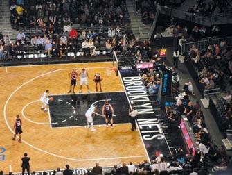 Brooklyn Nets in NYC - Basketballkamp