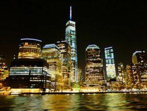 Cruise med middagsbuffet i New York