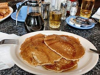 Frokost i NYC - Pannekaker