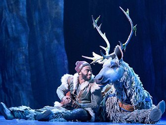 Frozen Broadway tickets - Kristoff og Sven