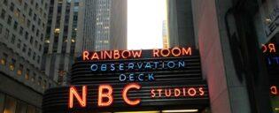 Guidet tur til NBC Studios i New York