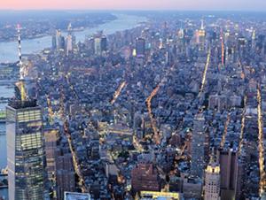 Helikopter kveldstur og cruise i New York