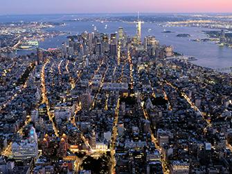 Helikopter kveldstur og cruise i New York - Downtown