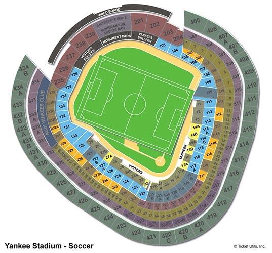 New York City FC - Yankee Stadium Salkart