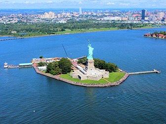 New York Helikoptertur - Frihetsgudinnen