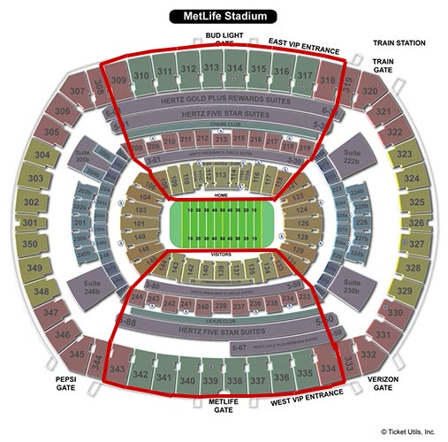 New York Jets - MetLife Stadium Salkart