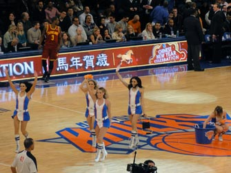 New York Knicks - Cheerleaders