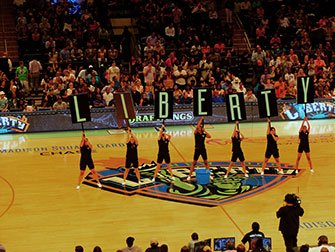 New York Liberty basketball-billetter - Kamp