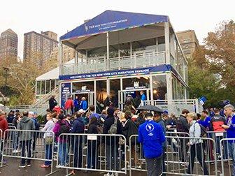 New York Marathon - Paviljongen