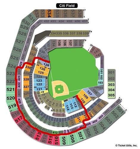 New York Mets - Beste sitteplasser