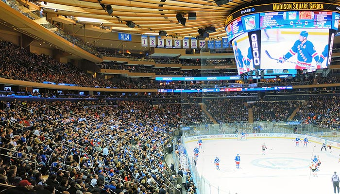 New York Rangers - Kamp i Madison Square Garden