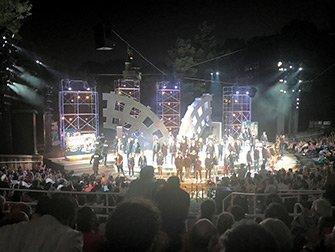 Shakespeare in the Park i New York - Slutten av forestillingen