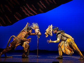 The Lion King Broadway Tickets - Slåsskamp