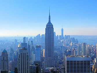 Top of the Rock Tickets - Utsikt over Empire State Building
