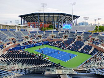 US Open Tennis tickets - Arthur Ashe Stadium fra Grandstand