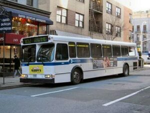 Buss i New York