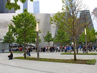 Guidet tur til 911 Memorial og Financial District i New York - 911 Museum