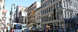 Guidet tur til TV- og filminnspillingssteder i New York
