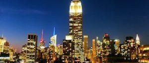 Guidet tur til rooftop barer i New York