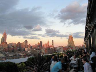 Guidet tur til rooftop barer i New York - PHD