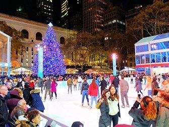 Jul i New York - Bryant Park