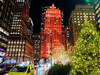 Jul i New York - Dekorasjoner