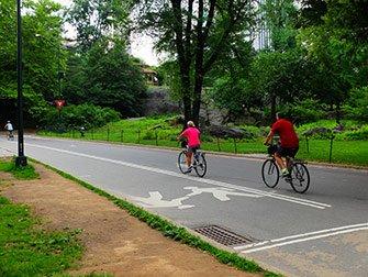 Leie sykkel i New York - Sykling i Central Park
